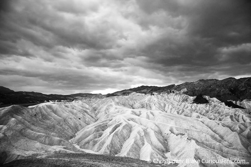 Zabriskie Point - Badlands of Death Valley