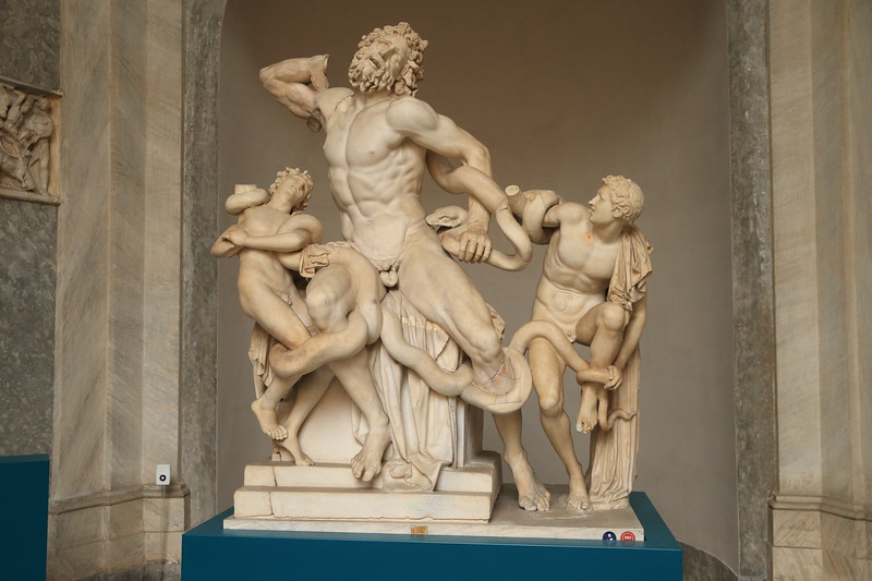 Laocoön and His Sons - circa 1st Century AD - Vatican Museum