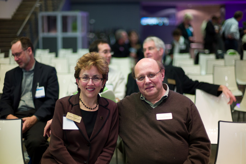 DWD Secretary Roberta Gassman and Steven Morrison, Executive Director, Jewish Federation of Madison.