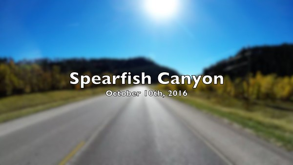 2016/10/10 - Spearfish Canyon Highway, South Dakota