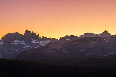 Sierra Mountains - Open Editions