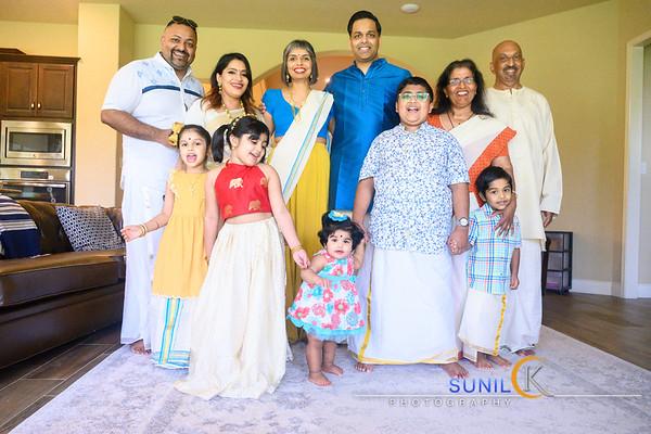 2021 Family Onam Celebration
