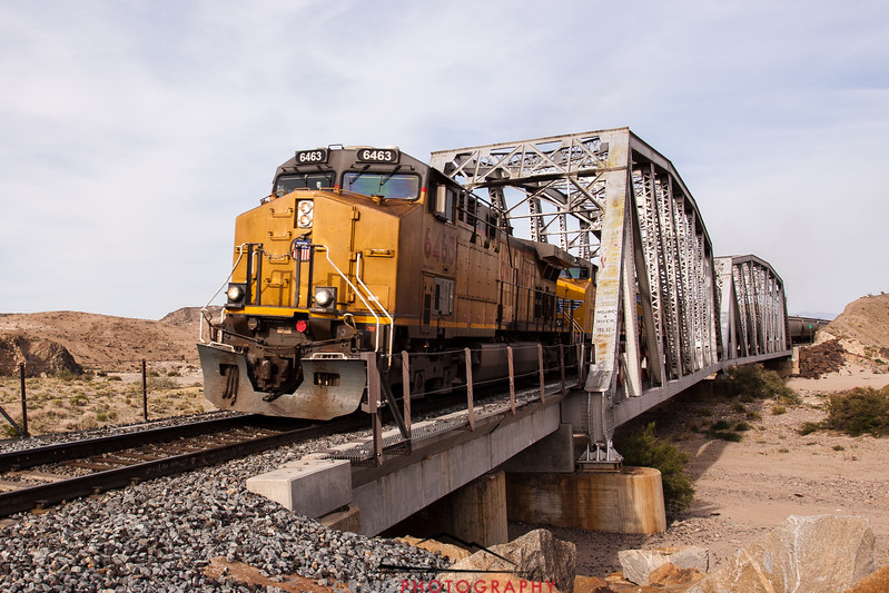 Afton Canyon Railroad Bridge #4