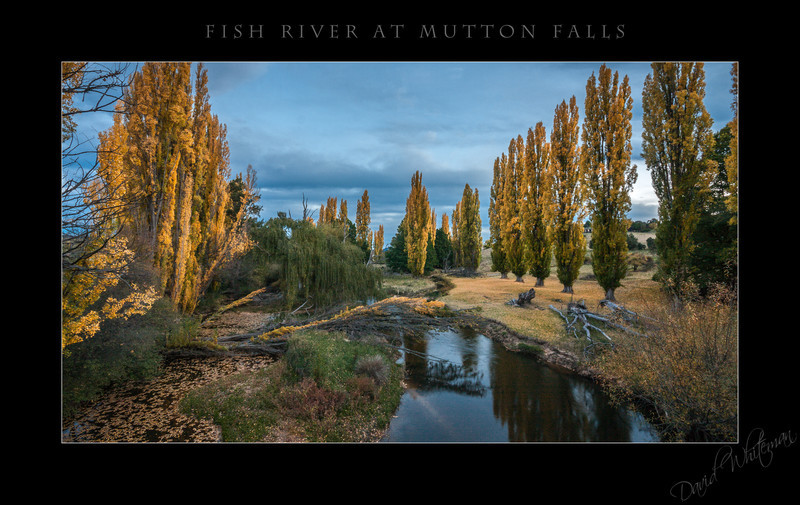 Fish River at Mutton Falls