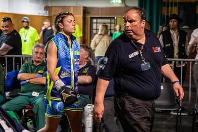 Kirstie Bavington vs Chanelle Brown - WBC international Super Lightweight - 20th July 2019