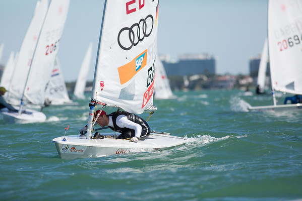 2015 Laser Sailing World Cup Miami