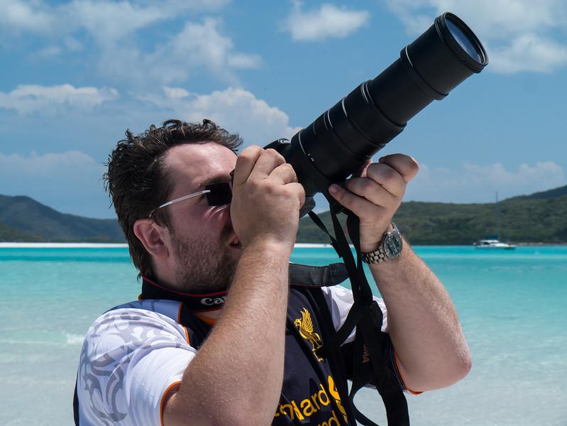 Jonti looking for birds