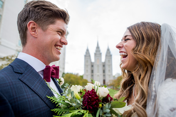 Bridals and Groomals  Salt Lake Temple