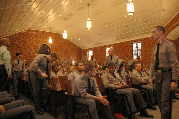 First Service Held in Newly Renovated Chapel