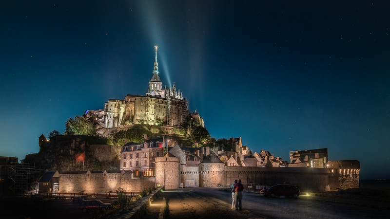 Mont Saint Michel up close
