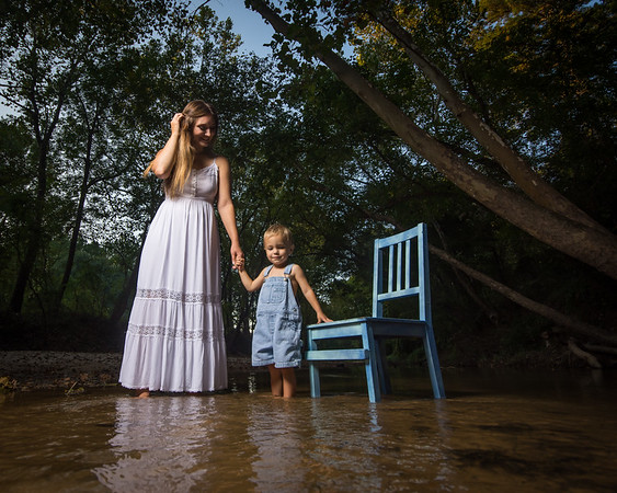 Mommy and Me in the River