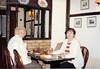 Grandma and Maureen in England around 1985