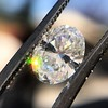1.05ct Oval Cut Diamond GIA H SI1 3