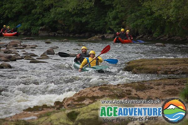 15th June 2013 canoe/ kayak Middle Findhorn