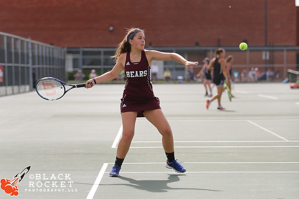 05-23-2017 Bears Tennis Ind. Sectionals