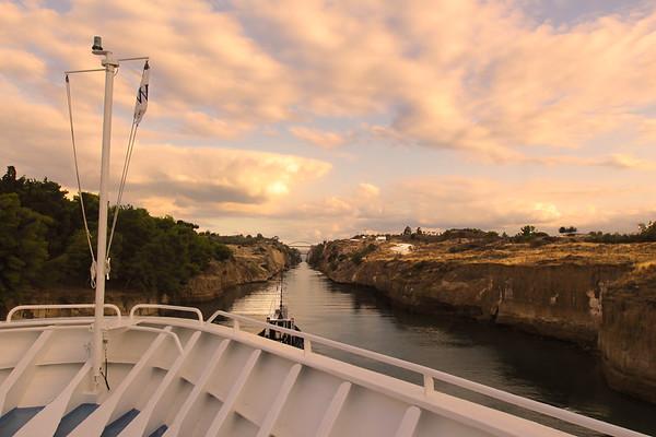 Sail Through a World Wonder, The Corinth Canal