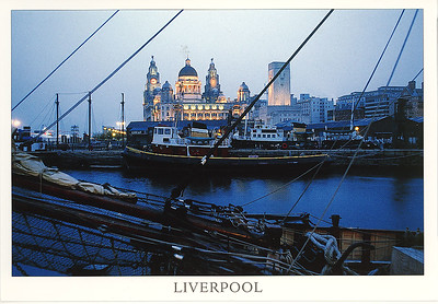 Liverpool With Ships