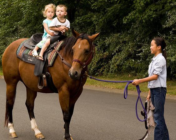 Kids on Horseback