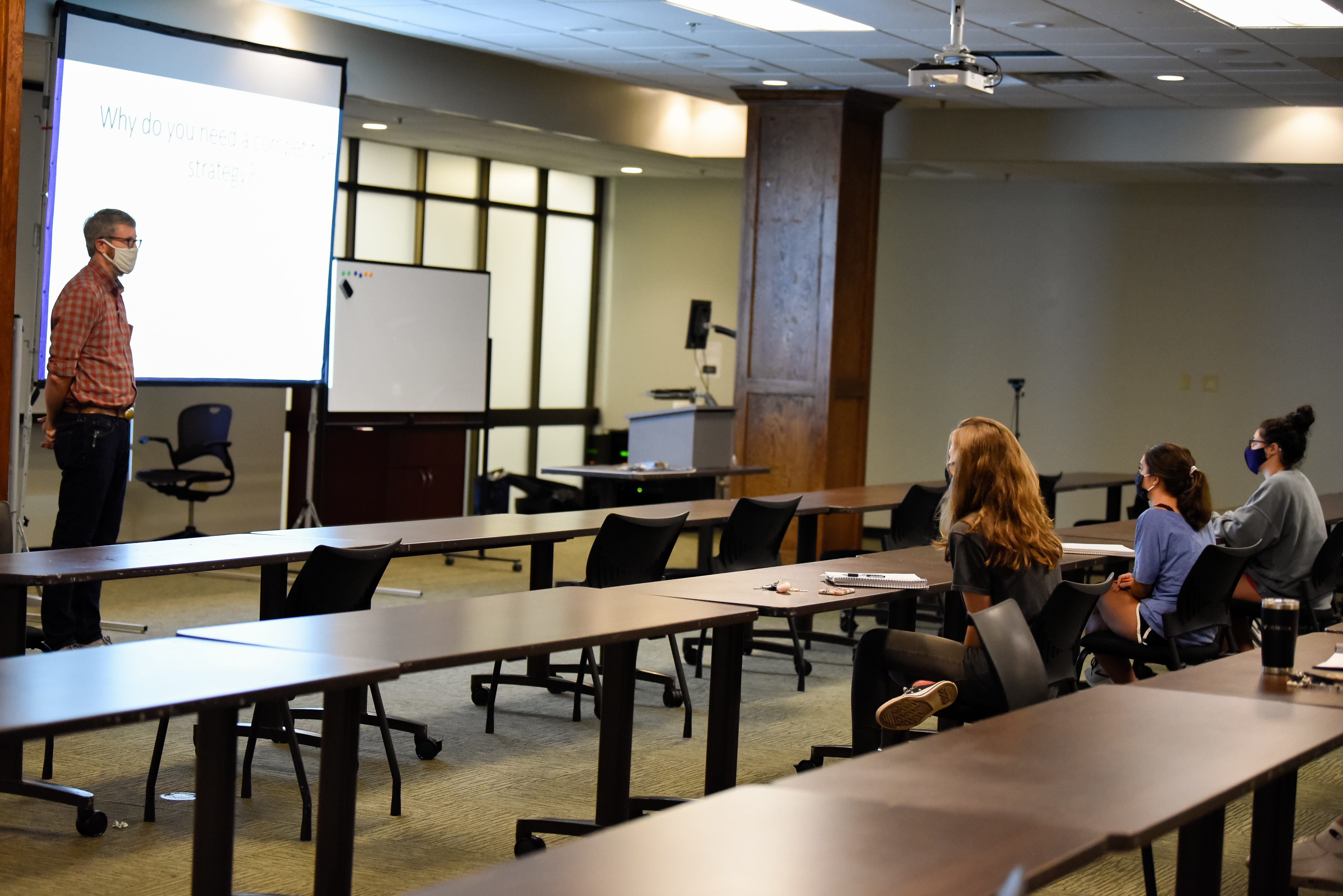 Image for College of Business faculty use innovative techniques to engage with students