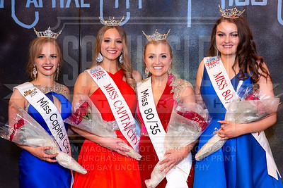 Miss Capital City and Miss 80/35 2019