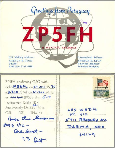 W8DFL QSL Cards - 6/13/2011