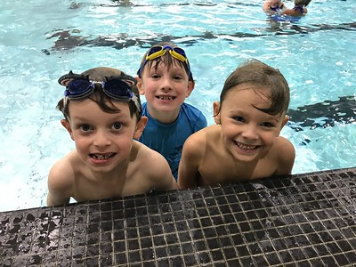 All the Kindergarten Swimmers