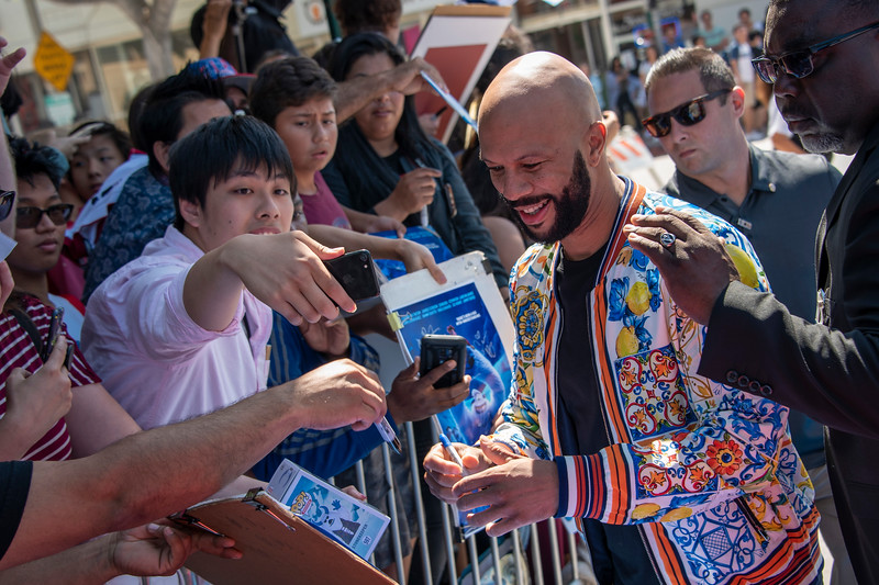 WESTWOOD, CA - SEPTEMBER 22: Common arrives for the Premiere Of Warner Bros. Pictures' 'Smallfoot' at Regency Village Theatre on Saturday, September 22, 2018 in Westwood, California. (Photo by Tom Sorensen/Moovieboy Pictures)