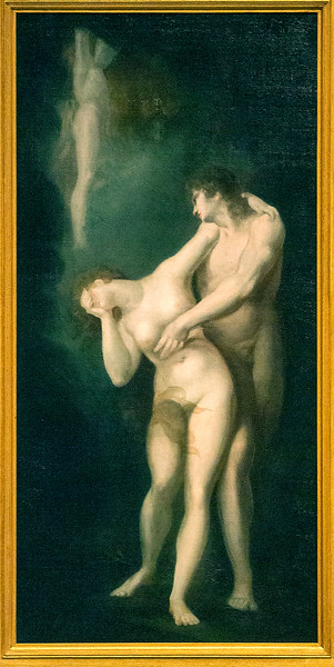 The Dismission of Adam and Eve, Henry Fuseli