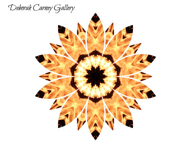 Mandalas from Photos of Fire in Cabo San Lucas