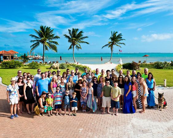 Farrell Family - Belize - 2015