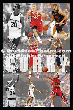 Curry Family Commemorative Print