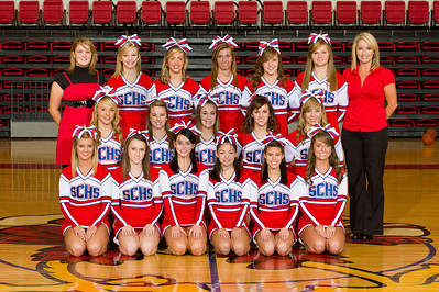 SCHS Cheerleaders 2011-2012