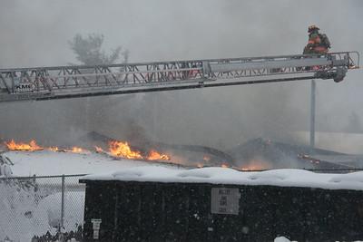 3 Alarm Building Fire - 162 Colebrook River Rd, Tolland, MA - 11/20/16
