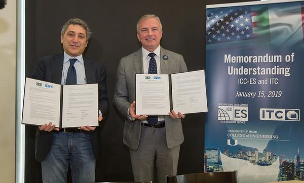 Memorandum of Understanding Signing Ceremony- January 15, 2019