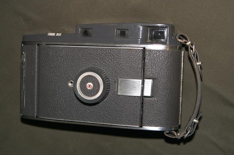 The elegantly retro-looking Polaroid 110A arrives