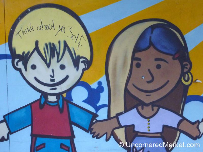 Kid-Friendly Street Art - Berlin, Germany