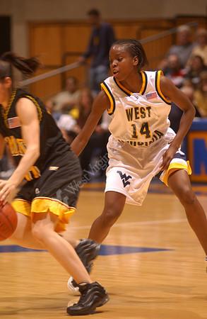 21898 WVU Women's Basketball vs Maryland