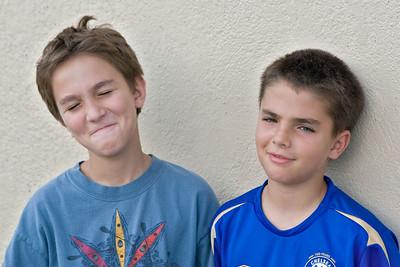 Seth and Gabe