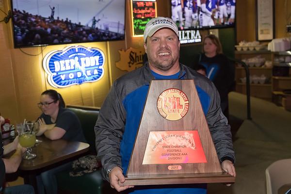 State Champion Rockdale Tigers v Brock George's Restaurant