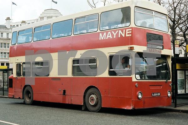 Manchester area  Bus Photos by Stuart Garner