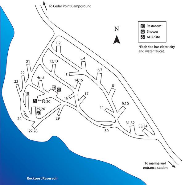 Rockport State Park (Juniper Campground)
