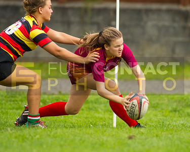 Carmarthen Quins Girls u15 v Llanelli Wanderers Girls u15