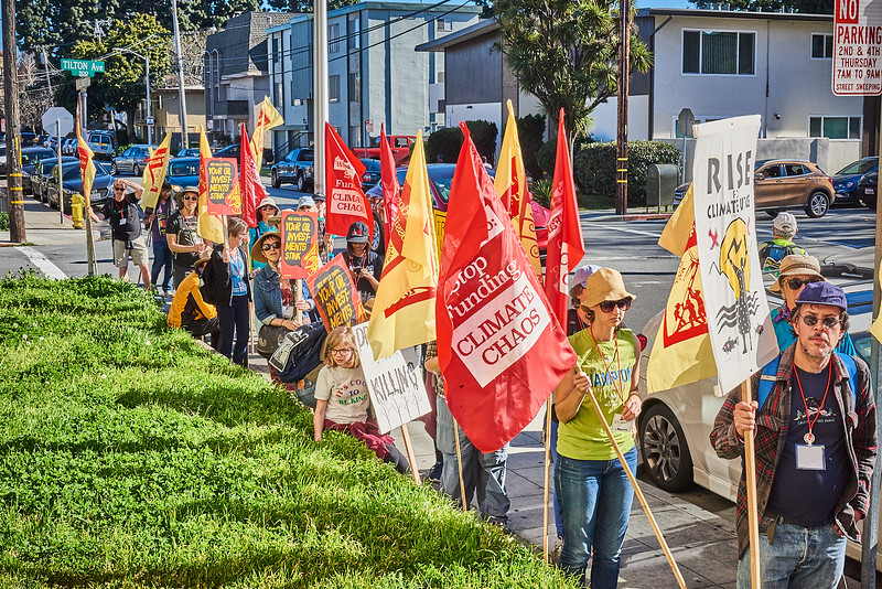 March for Fossil Fuel Freedom