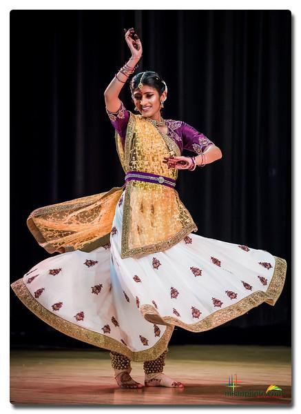 Sanjana's Kathak Pranam 2019