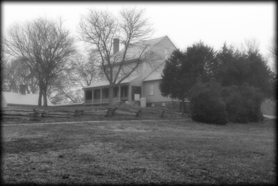 Sully Historic Site in Fog - Jan 2013