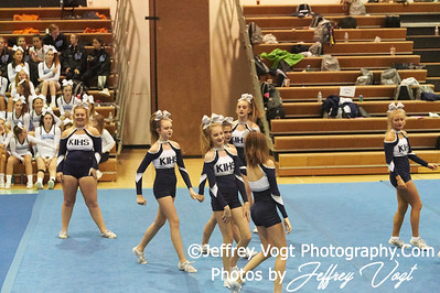 10-13-2018 Kent Island High School Junior Varsity Cheerleading at the Walt Whitman 4th Annual Cheerleading Competition, Photos by Jeffrey Vogt Photography