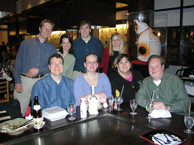 02-27 - Dinner for Michele Smith Malcolm's Birthday - Benihana - Atlanta, GA