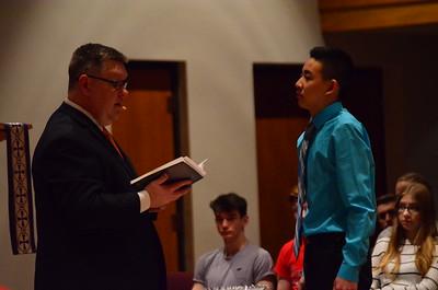 Baptism of Caleb Huang