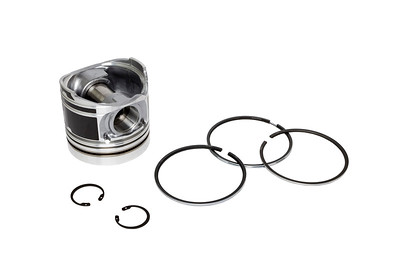 HURLIMANN ELITE MASTER PRESTIGE SAME SILVER SERIES ENGINE PISTON WITH RINGS 105MM BORE