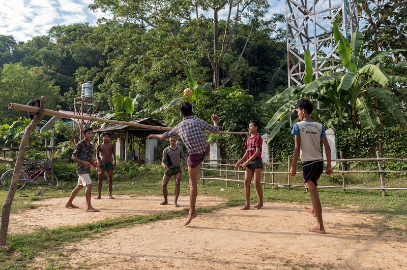 Sepak Takraw, Myanmar